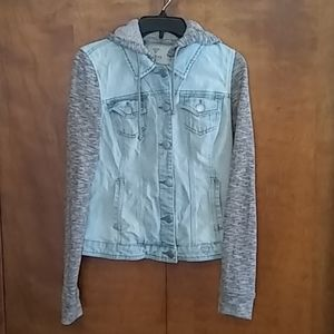 Guess Jean jacket girls size Large